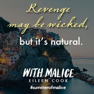 With Malice, We Were Liars, YA Book, Eileen Cook, Summer, Beach Read ___