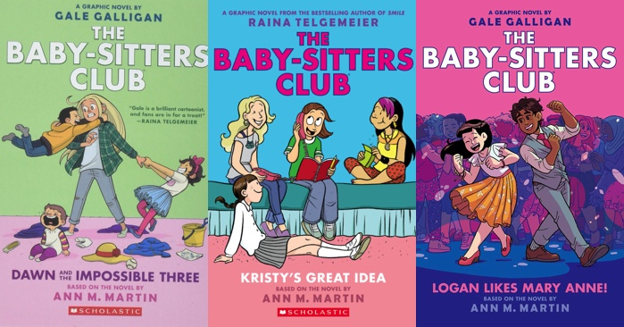 The Baby-Sitters Club, From Novels to Graphic Novels