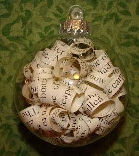 Bookish Ornament