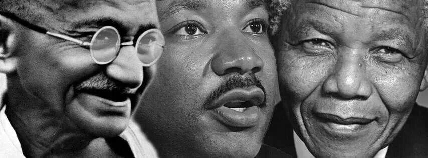 Nelson Mandela or Martin Luther King