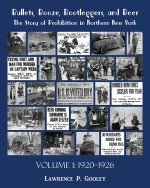 Bullets, Booze, Bootleggers, and Beer, Volume 1-Front Cover