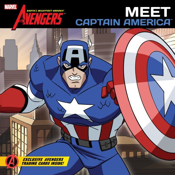The Avengers: Earth's Mightiest Heroes!:  Meet Captain America (Volume 2)