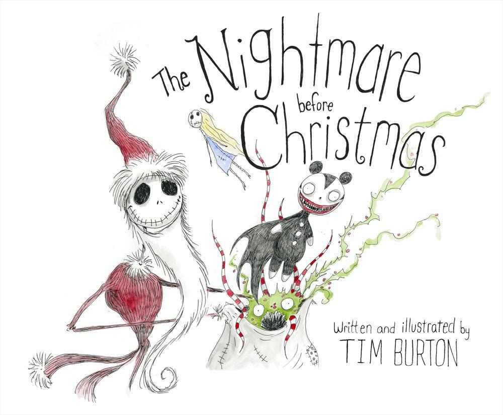 art of coloring tim burton u0027s the nightmare before christmas