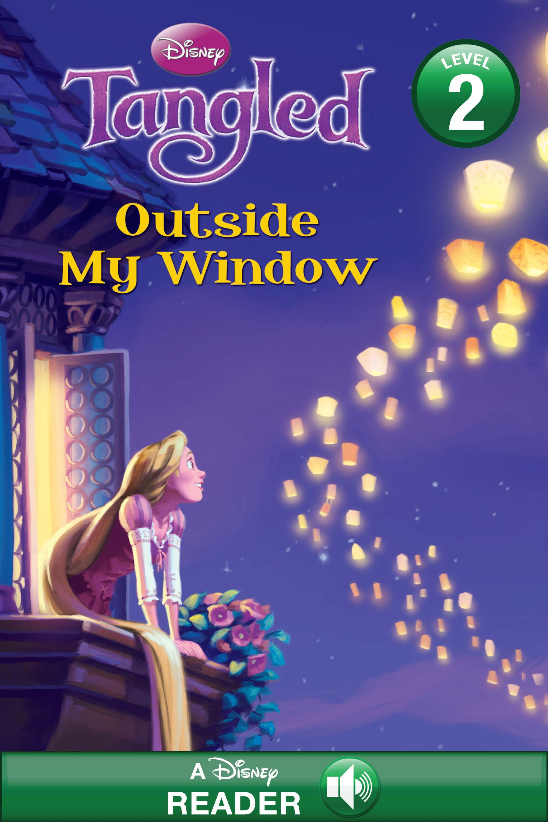 Disney Princess Tangled:  Outside My Window
