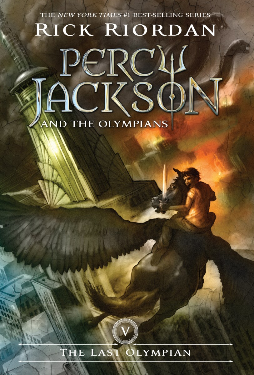 Percy Jackson and the Olympians: The Last Olympian by Rick Riordan (Cover)