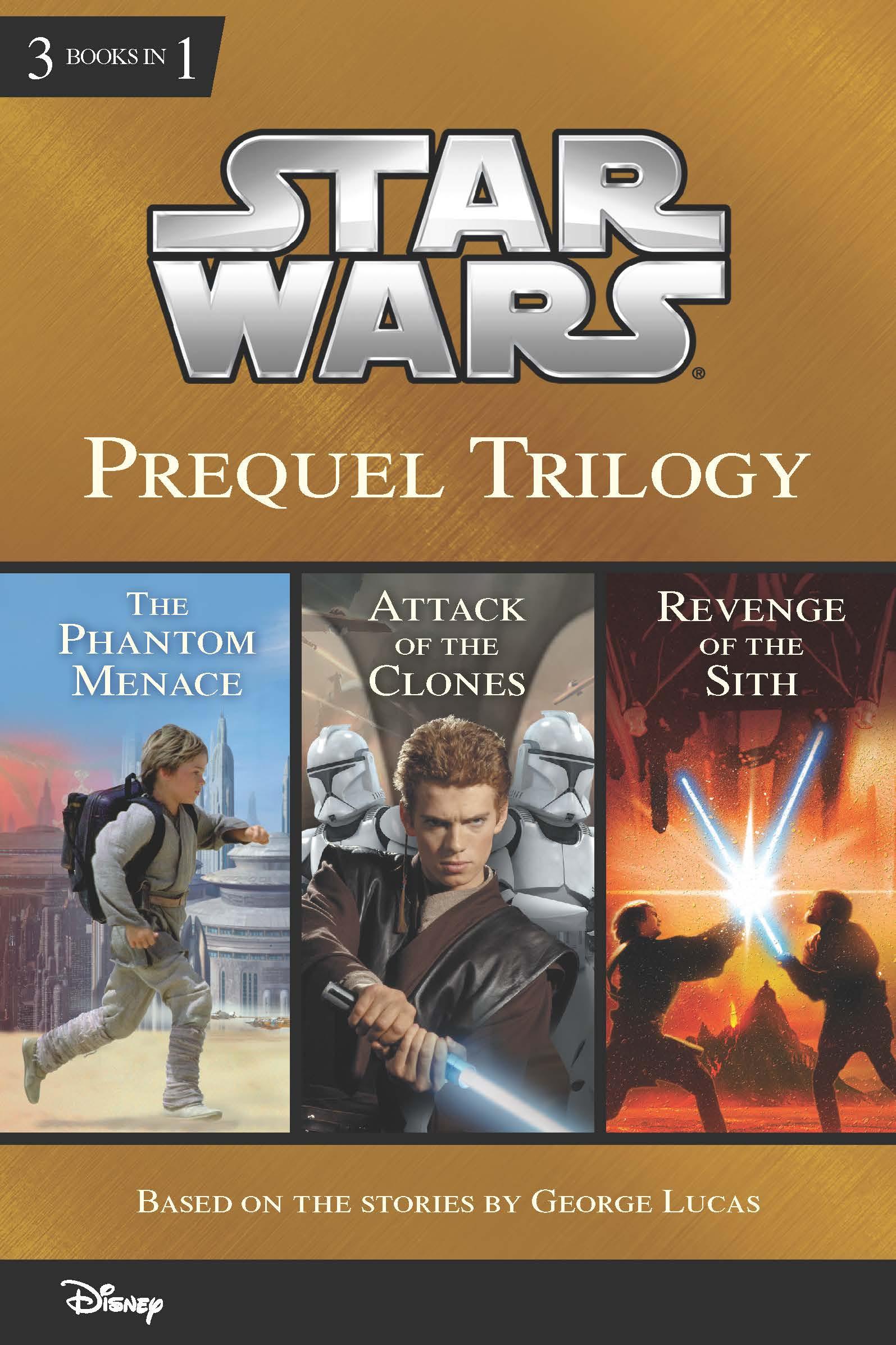 Star Wars Prequel Trilogy Disney Books Disney Publishing Worldwide