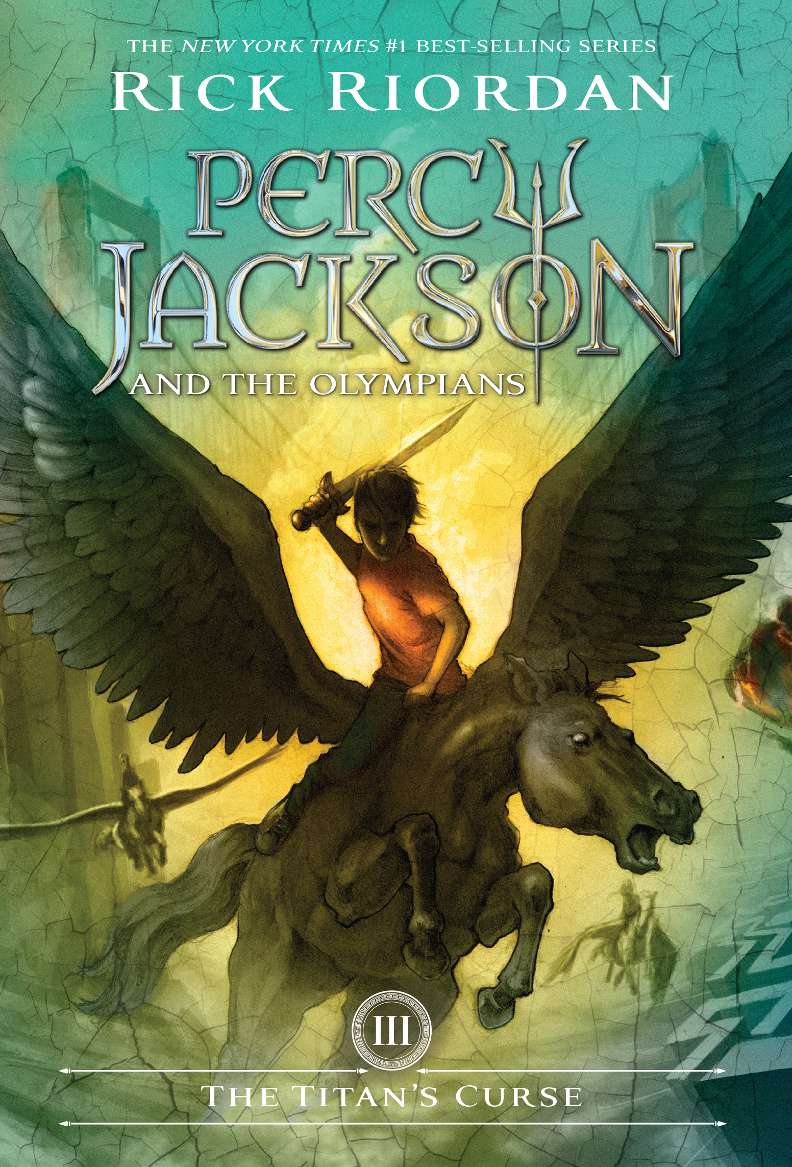 Percy Jackson and the Olympians: The Titan's Curse (Cover)
