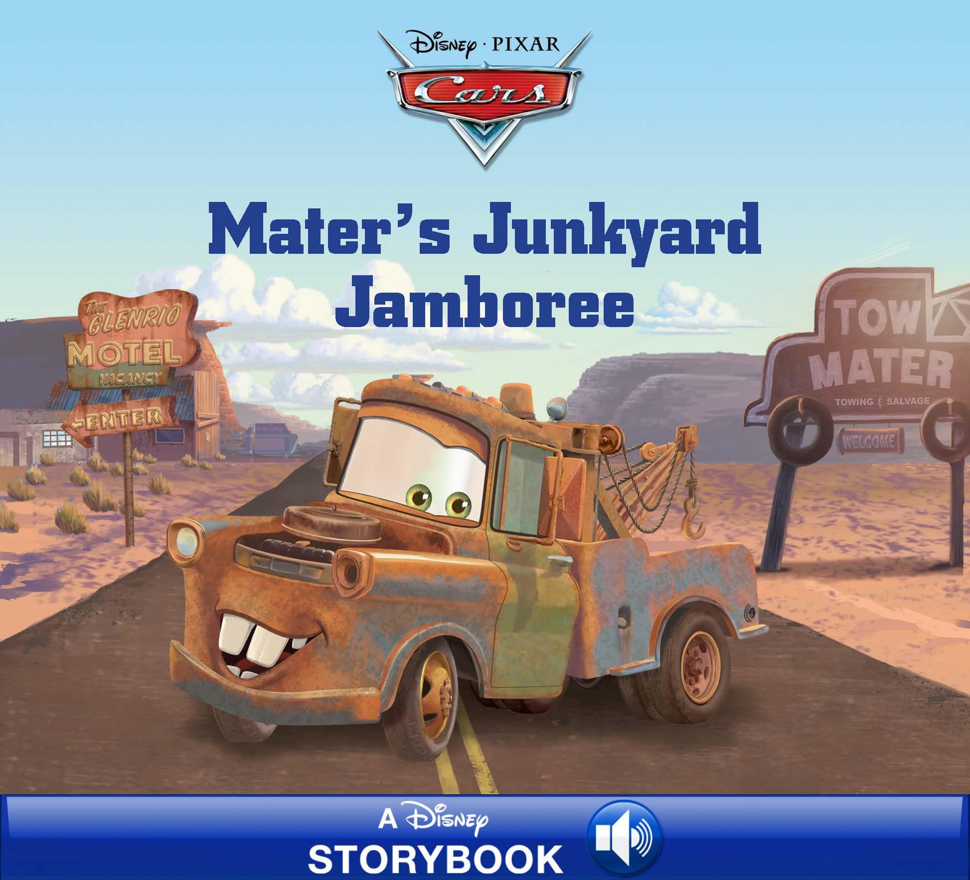 Cars: Mater\'s Junkyard Jamboree | Disney Books | Disney Publishing ...