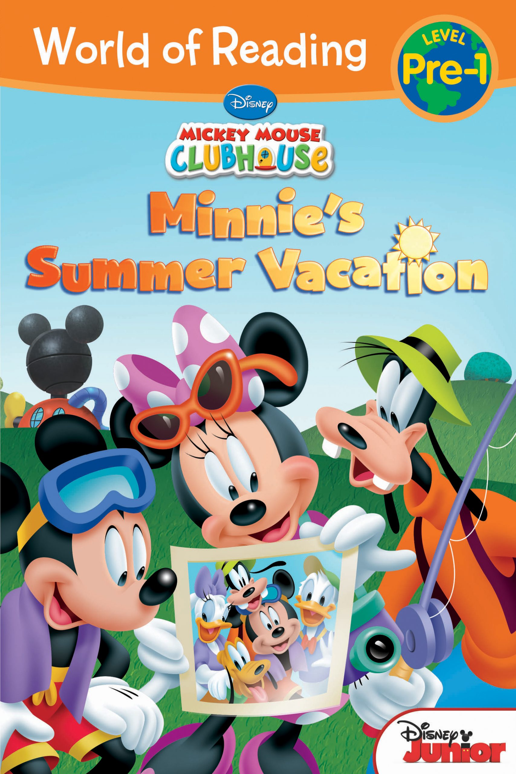 World Of Reading Mickey Mouse Clubhouse Minnie S Summer Vacation Disney Books Disney Publishing Worldwide