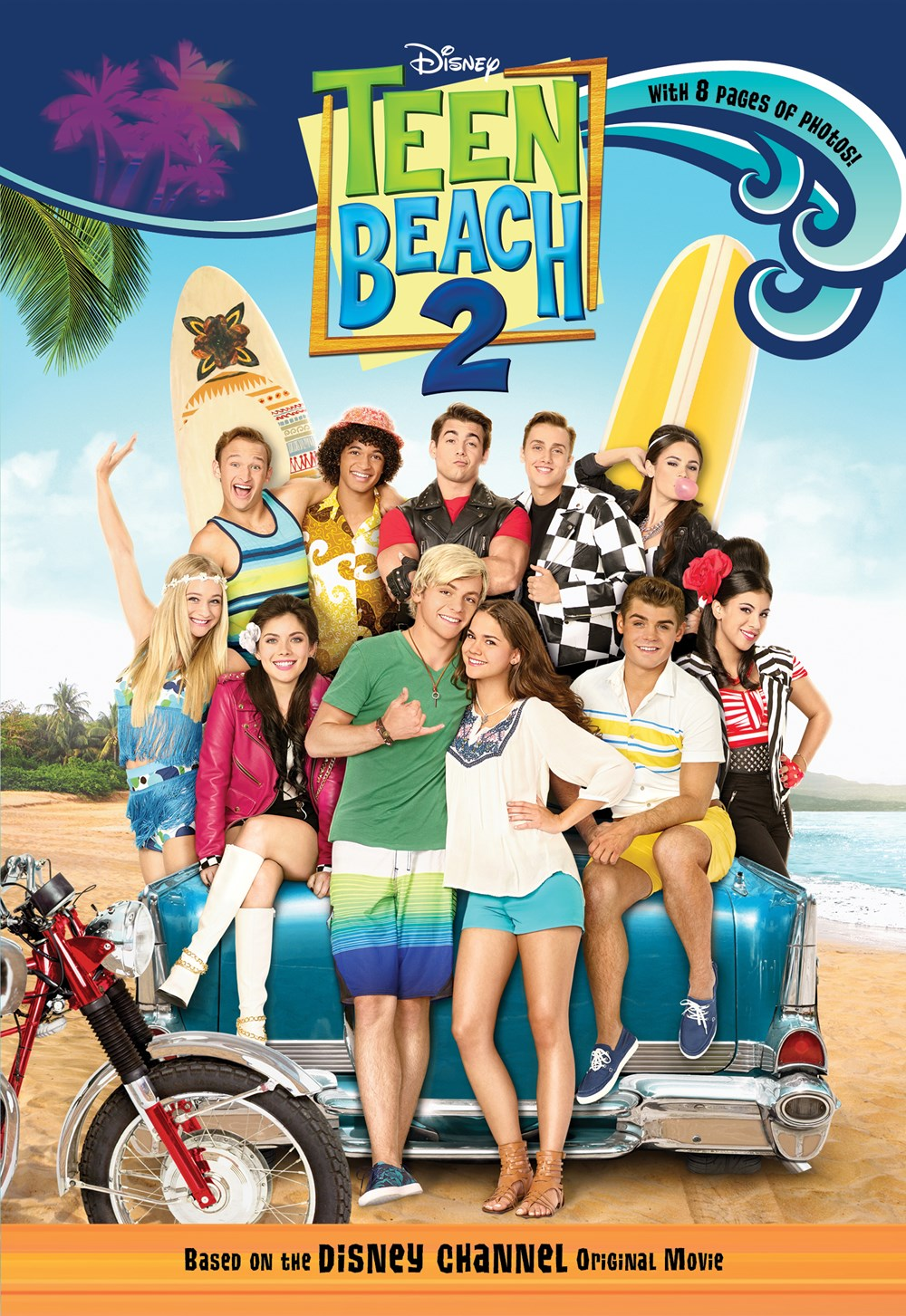 Teen Beach Movie 2 : beach, movie, Beach, Disney, Books, Publishing, Worldwide