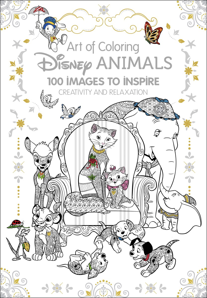 Art Therapy Disney Animals Disney Publishing Worldwide