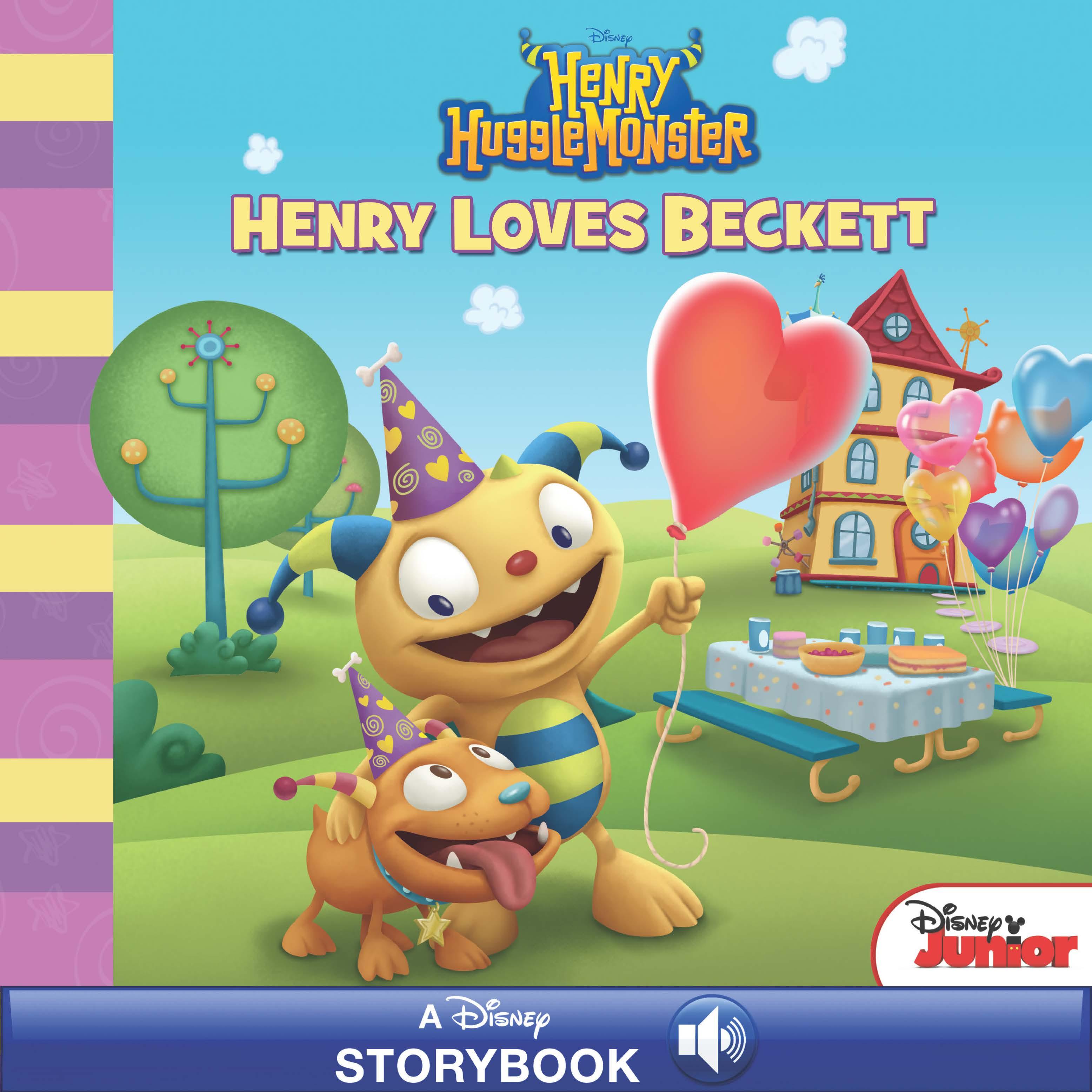 Henry Hugglemonster: Henry Loves Beckett