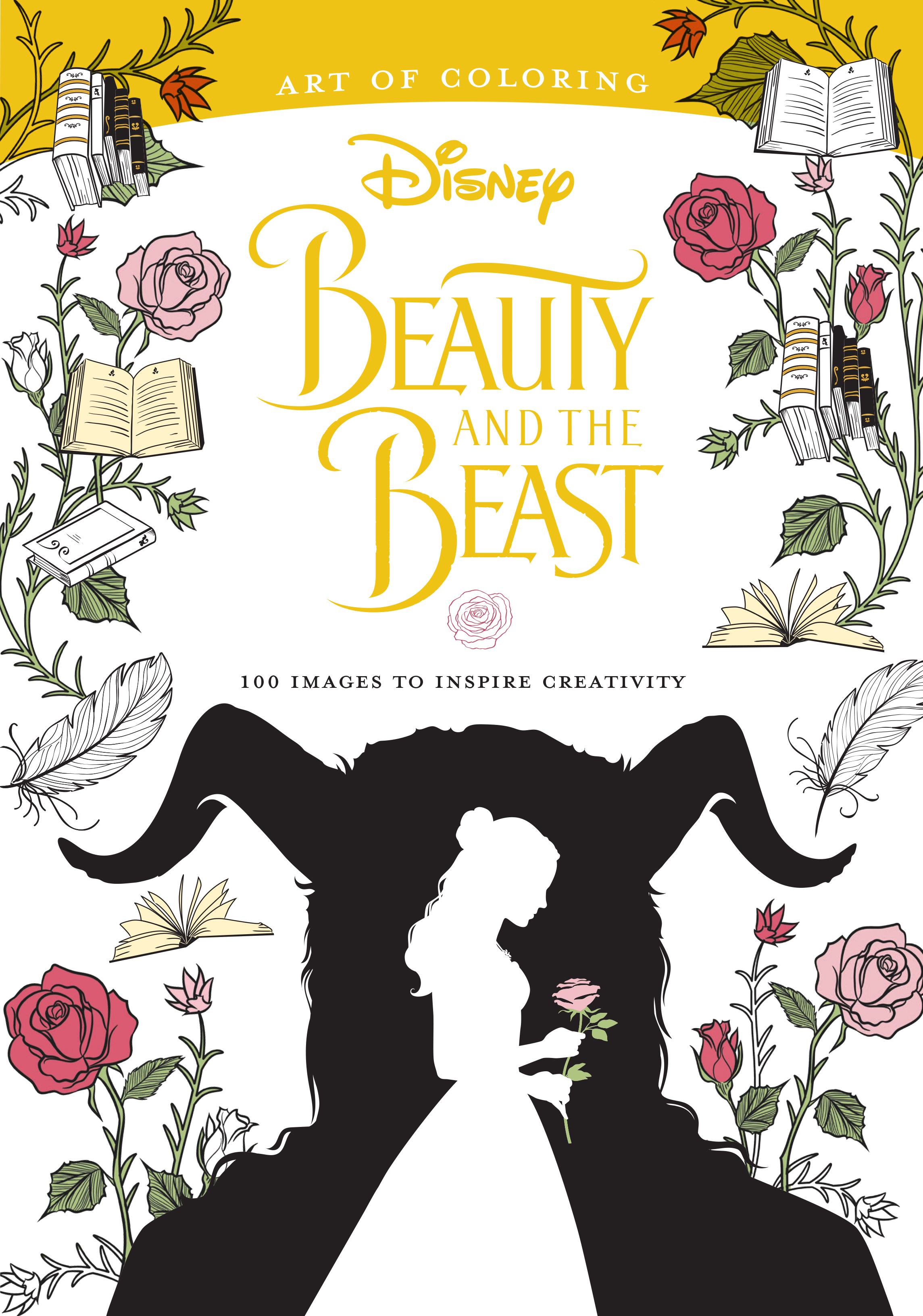 - Art Of Coloring: Beauty And The Beast Disney Books Disney