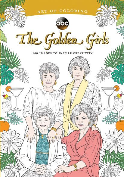 Art of Coloring: Golden Girls