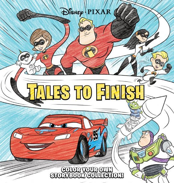 Disney*Pixar Storybook Collection: Tales to Finish