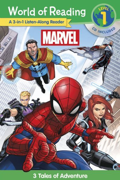 World of Reading: Marvel 3 Tales of Adventure