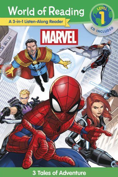 World of Reading: Marvel 3 Tales of Adventure