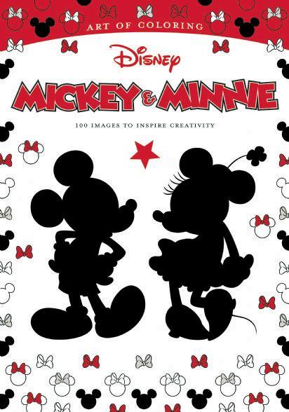 Art Of Coloring Mickey Minnie Disney Books Disney Publishing Worldwide