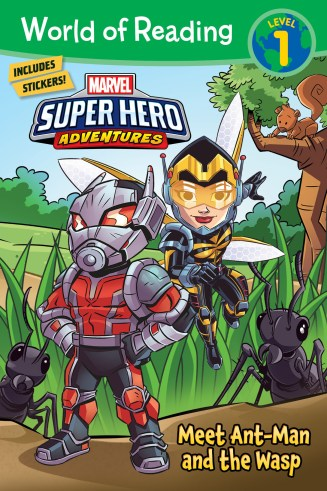 Ant Man and the Wasp cover