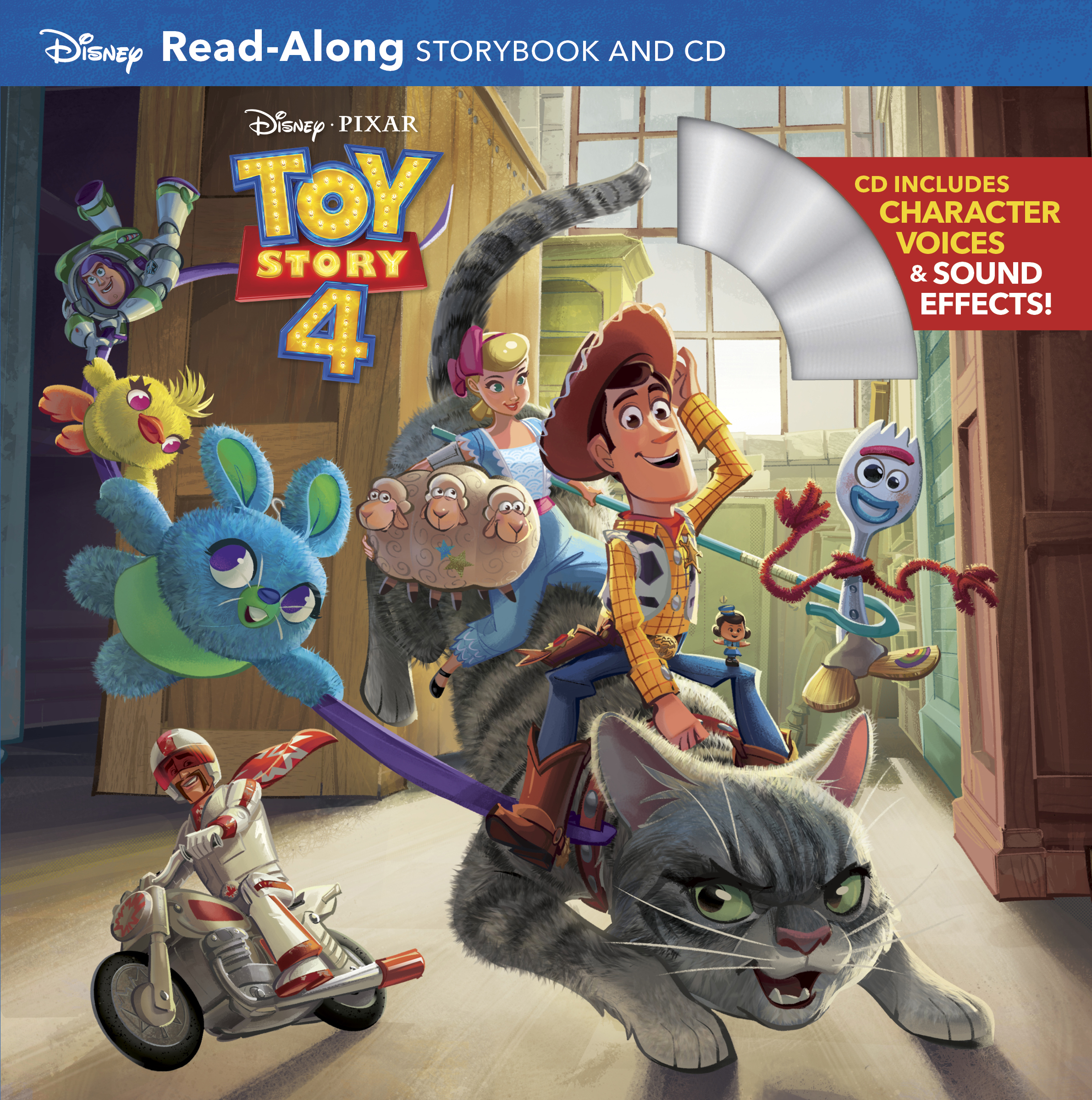 Toy Story 4 Read Along Storybook And Cd Disney Books Disney