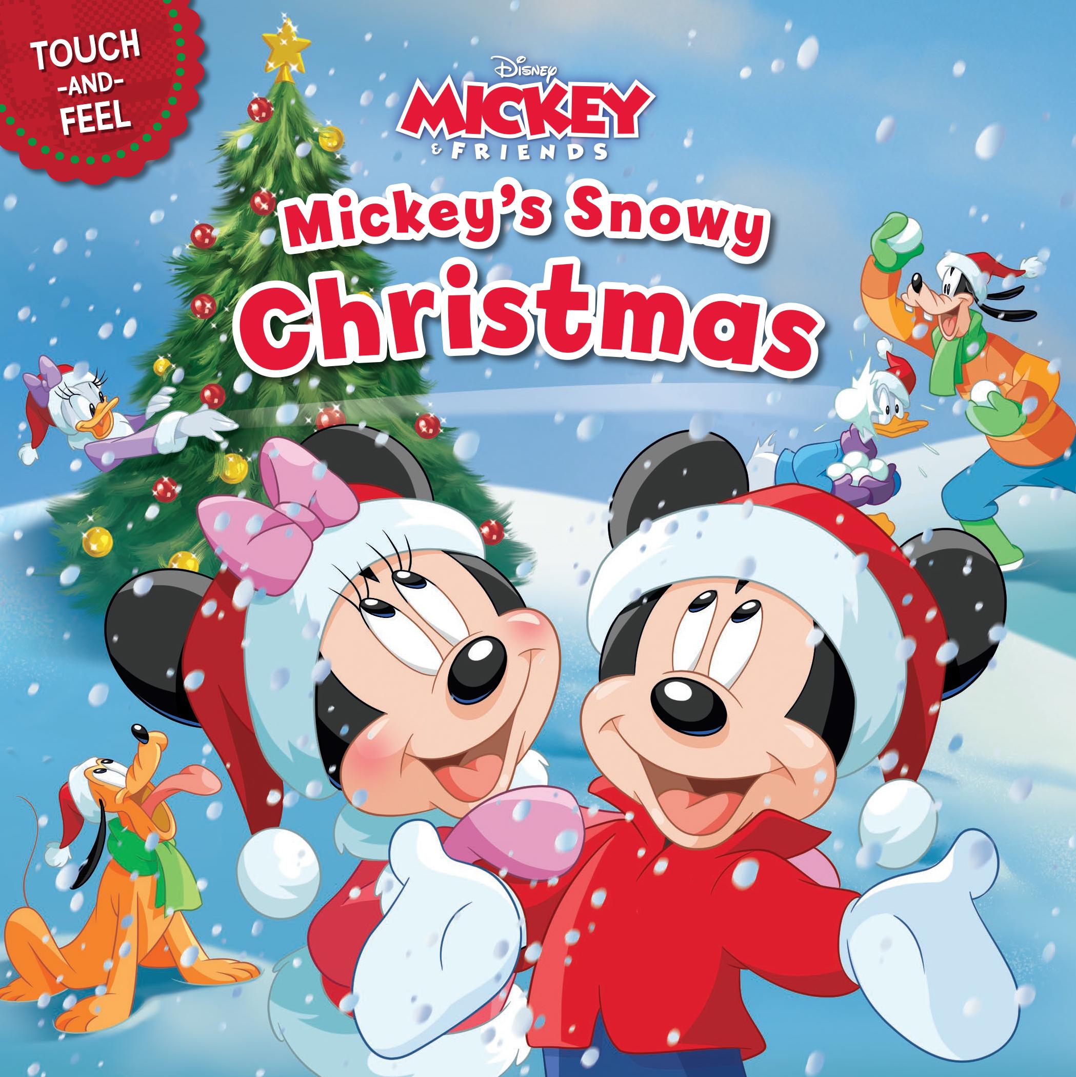 Mickeys Christmas.Mickey S Snowy Christmas
