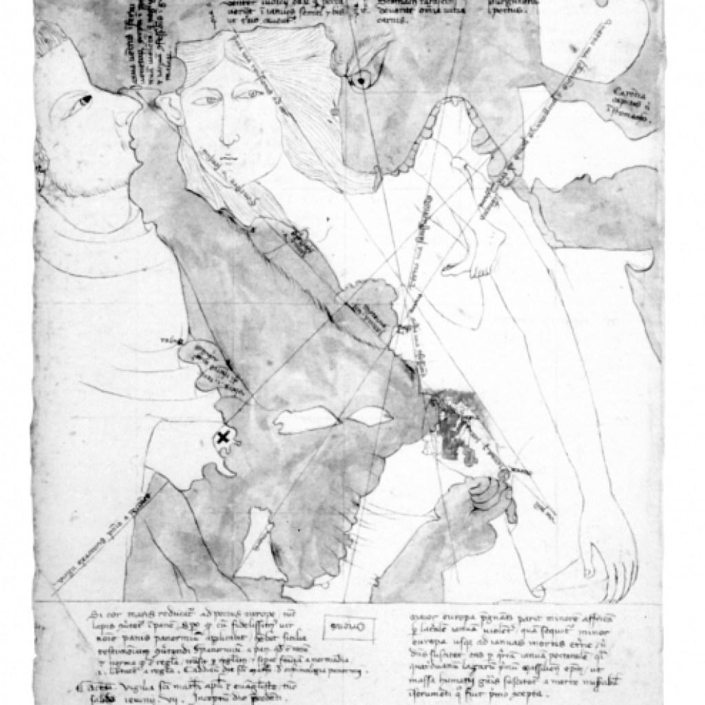 Les cartes anthropomorphes d'Opicinus de Canistris (1337)