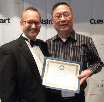 Receiving IACP Award