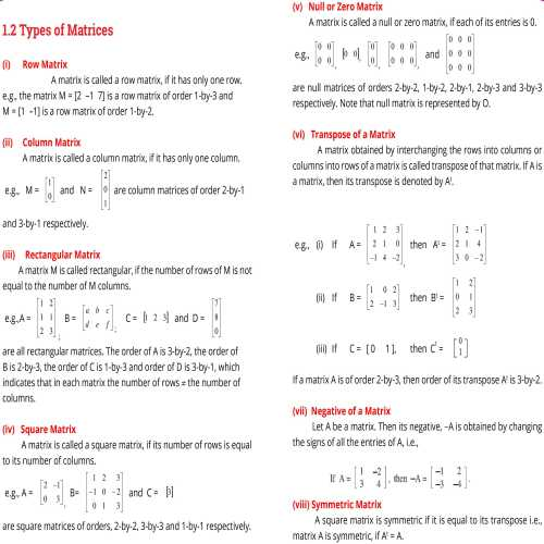 9th-math-contents