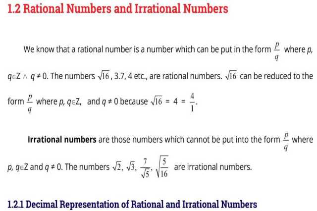 Math-Book-FSc-Part-1-English-Medium-contents