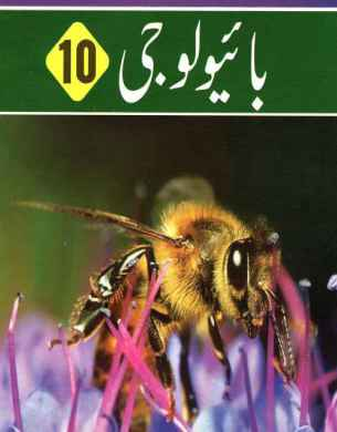 10th Biology Book Urdu Medium cover fi
