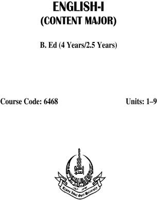 AIOU-B.Ed-Code-6468-Book-cover