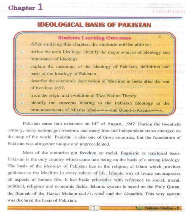 9th-Pakistan-Studies-textbook-English-medium-contents-page