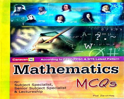 Math Lecturer SS & SSS PPSC - FPSC & NTS Book Cover Page