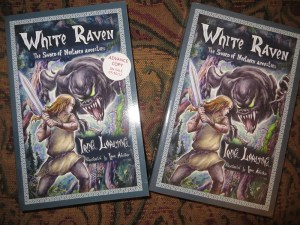 Both copies of White Raven
