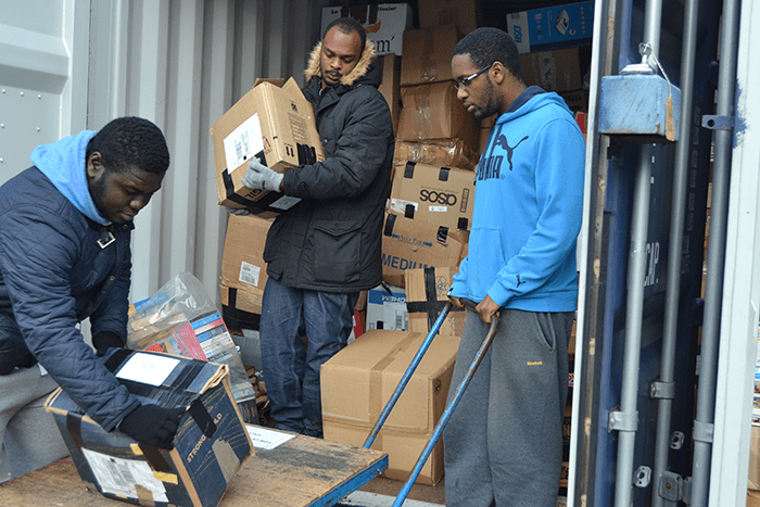 First container shipment to Nigeria funded by Universal Channel Africa