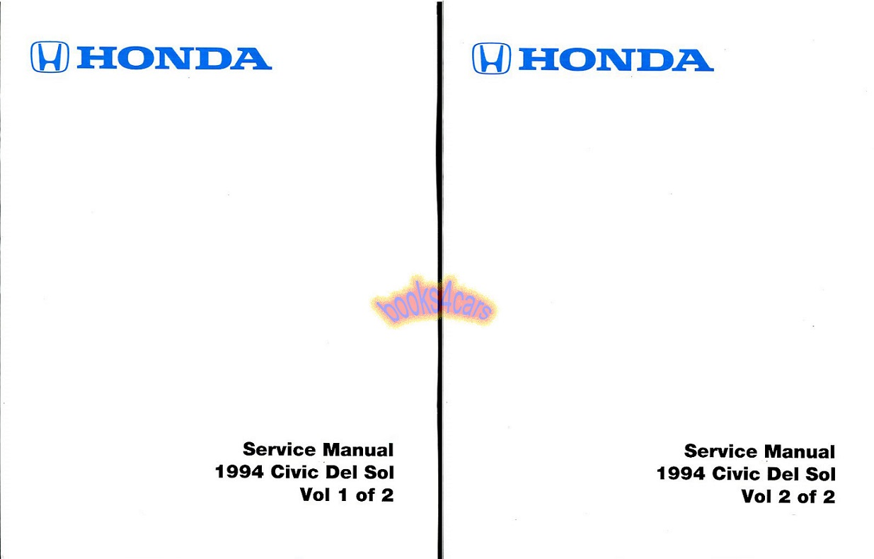 Honda Manuals At Books4cars
