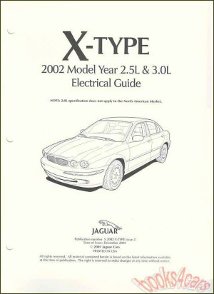 Jaguar XType Manuals at Books4Cars