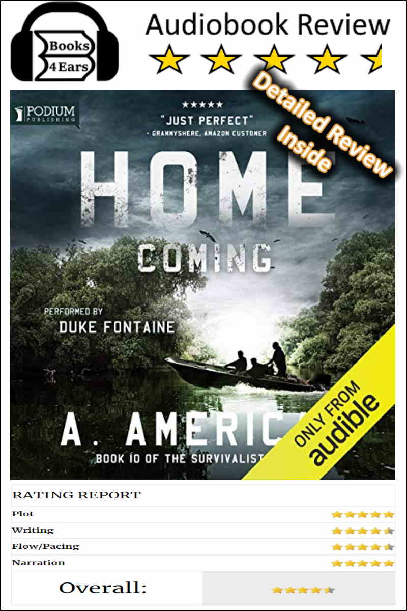 Home Coming detailed book review and complete character list via @Books4Ears via @Books4Ears
