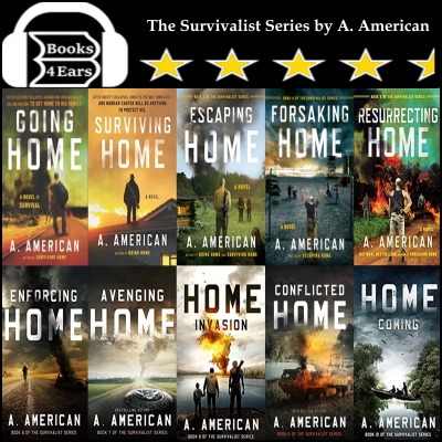 The Survivalist Series by A. American