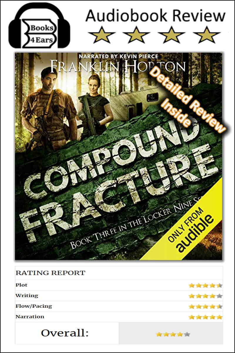 Compound Fracture detailed book review and complete character list via @Books4Ears via @Books4Ears