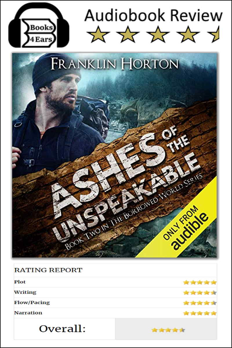 Ashes of the Unspeakable Book Review and character list. via @Books4Ears via @Books4Ears