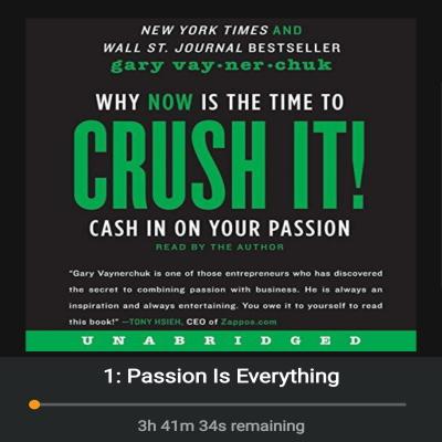 Crush It – Audiobook Review