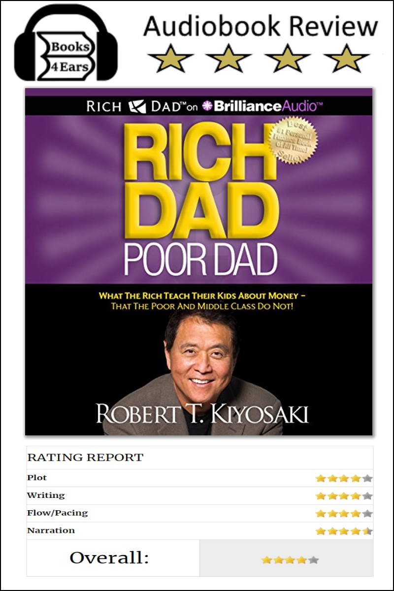 Rich Dad, Poor Dad Book Review and chapter list. via @Books4Ears via @Books4Ears