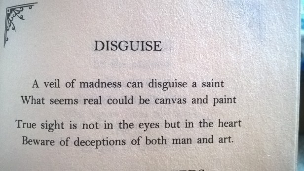 Rumi and his words about disguise