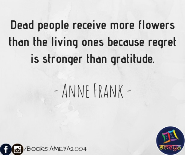 Anne Frank's quote about dead people