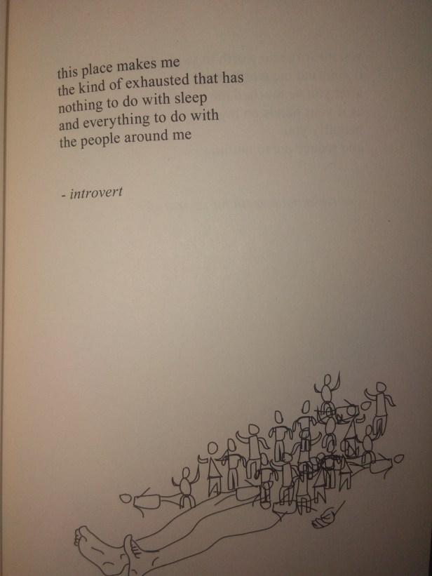 Rupi Kaur's poem about depression
