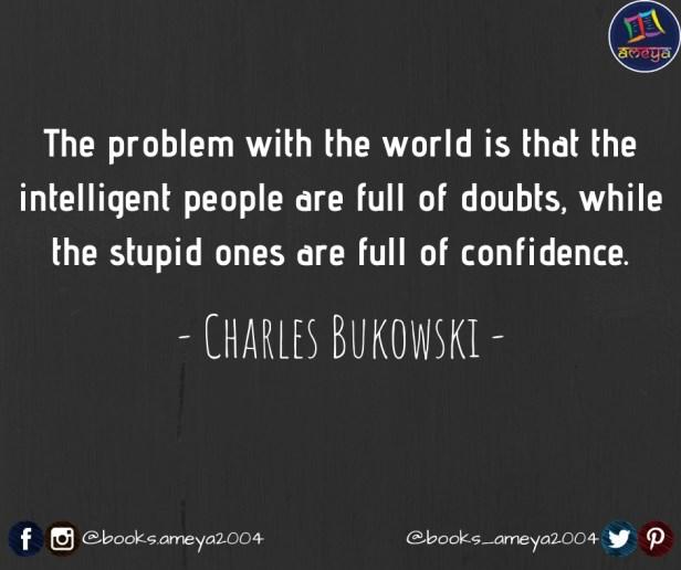 CHARLES BUKOWSKI'S QUOTES