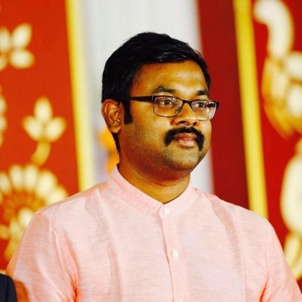 Vijayakarthikeyan K: Author of 'Once Upon An IAS Exam'