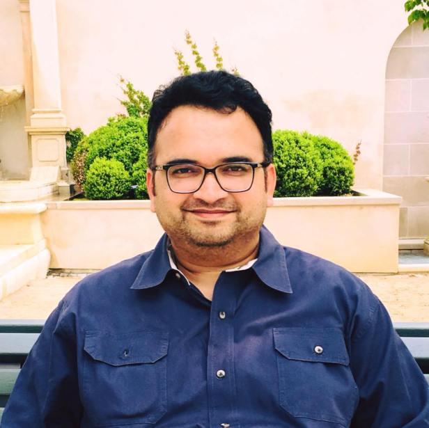 Deepak Karamungikar: The author of