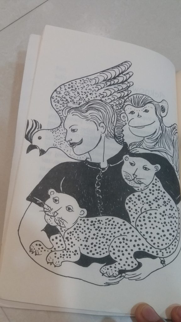 An illustration from 'My Father's Zoo' by author-cum-artist Esther David